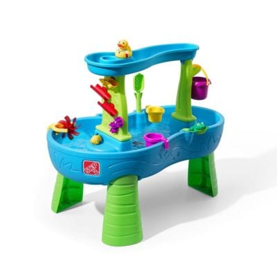 Step2 Rain Showers Splash Pond Water Table Playset Gifts for Kids