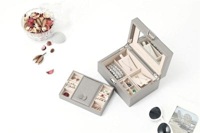 Vlando Wooden Jewelry Box Gifts for Mom