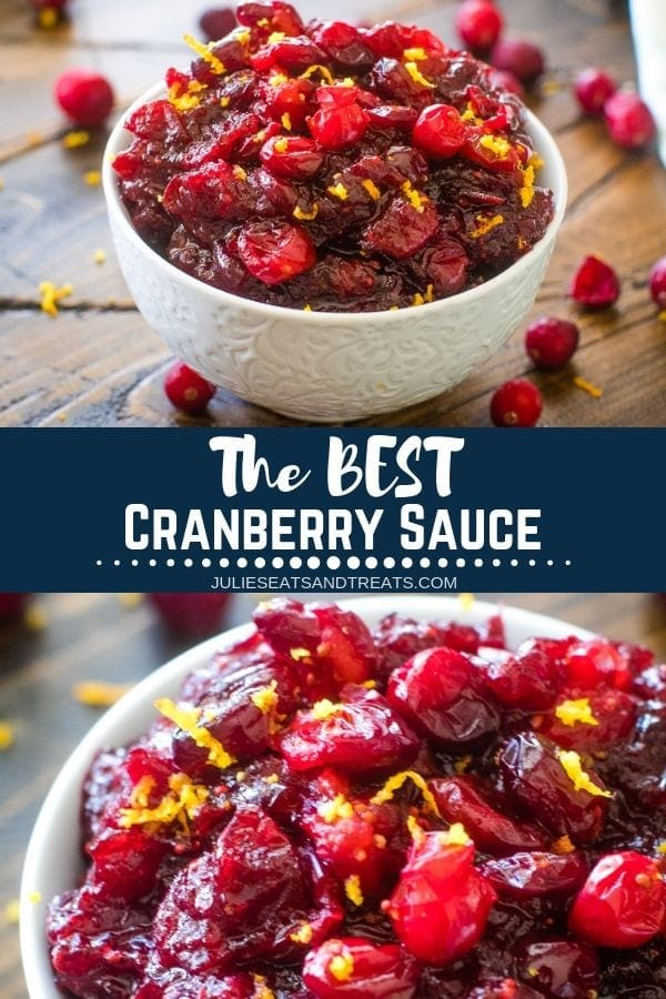 Cranberry Sauce Pinterest Image