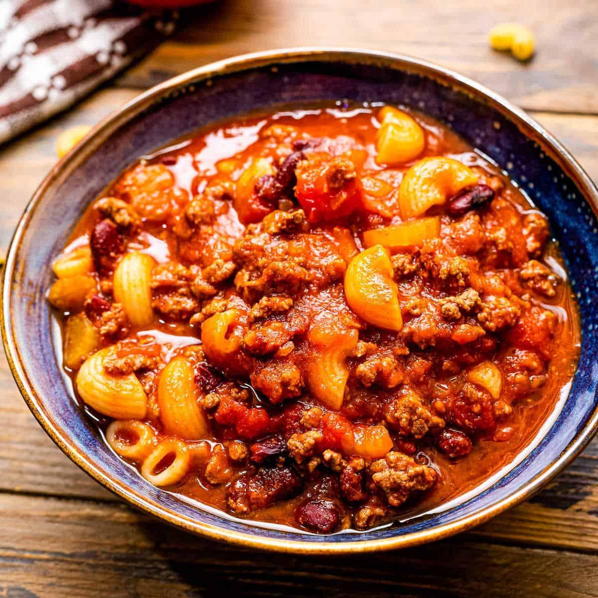 Crock Pot Chili Mac Julie S Eats Treats