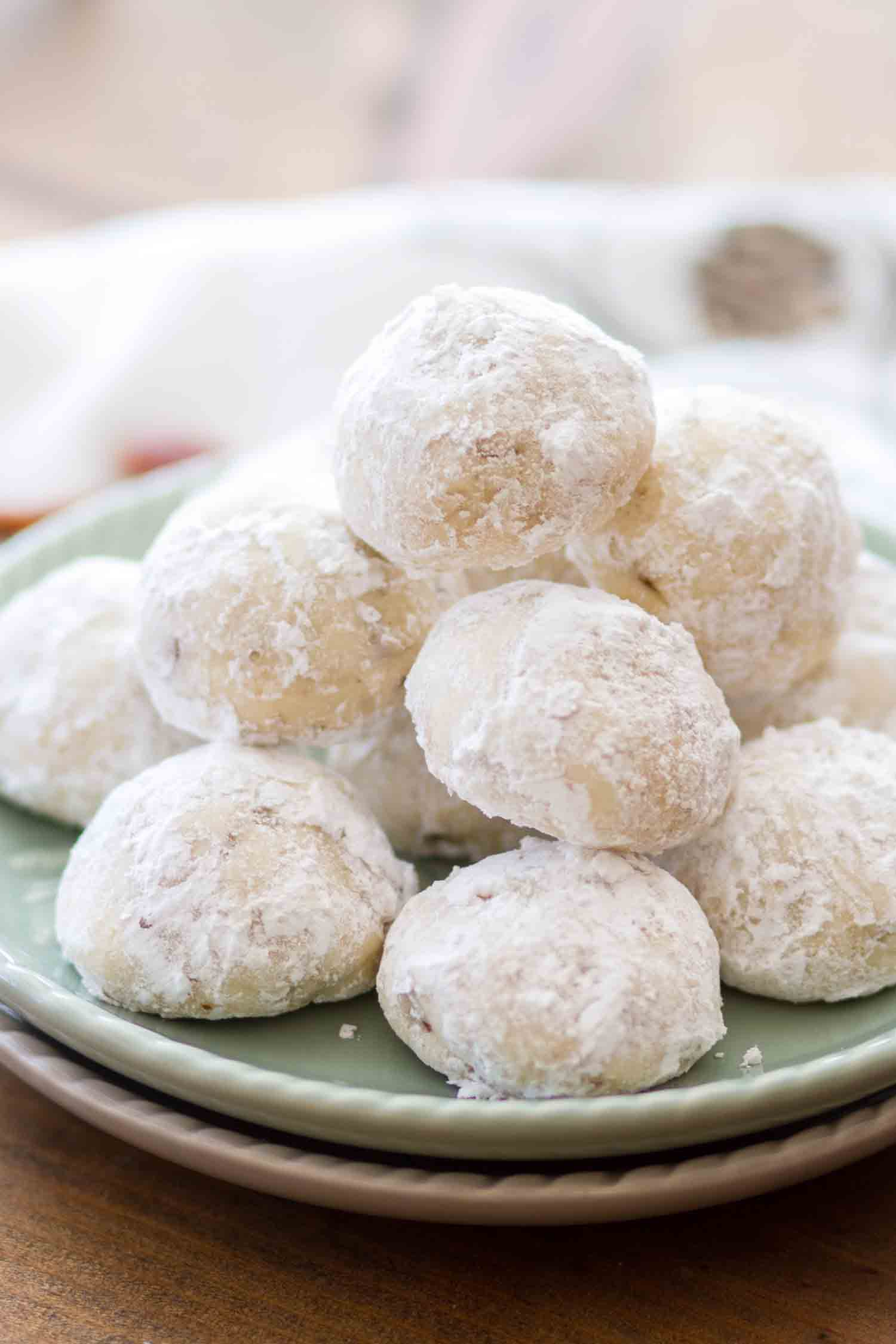 Mexican Wedding Cookies Julie S Eats Treats