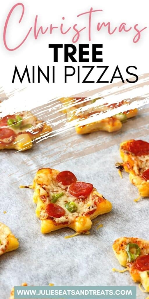 Easy Christmas Tree Mini Pizzas JET Pinterest