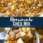 Chex Mix Recipe Pinterest Image