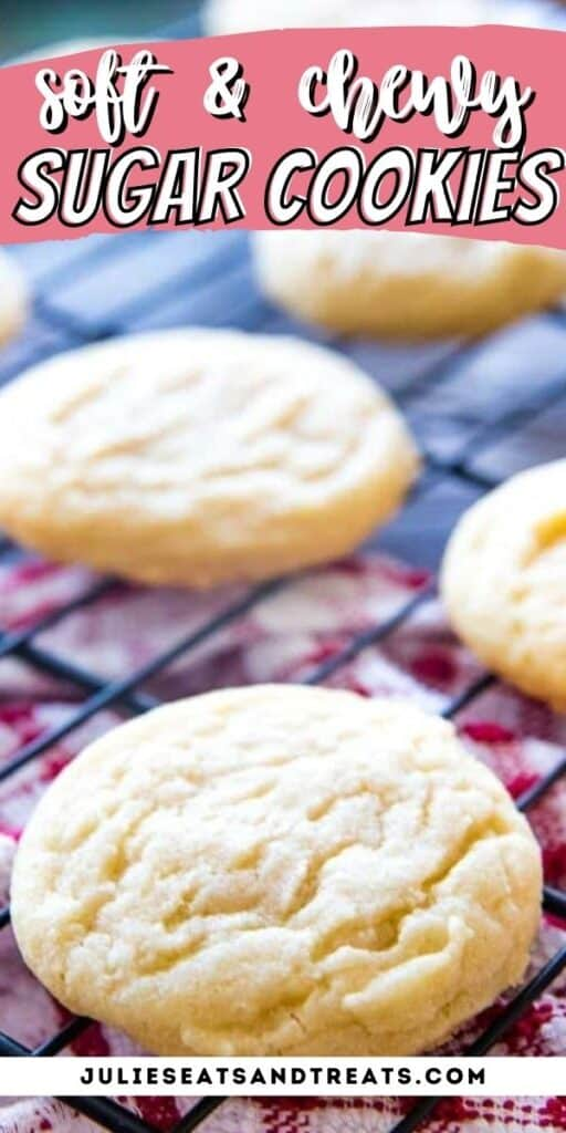 Soft Sugar Cookies Recipe pinterest