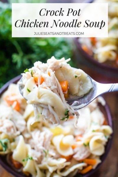 crockpot chicken noodle soup recipe pinterest