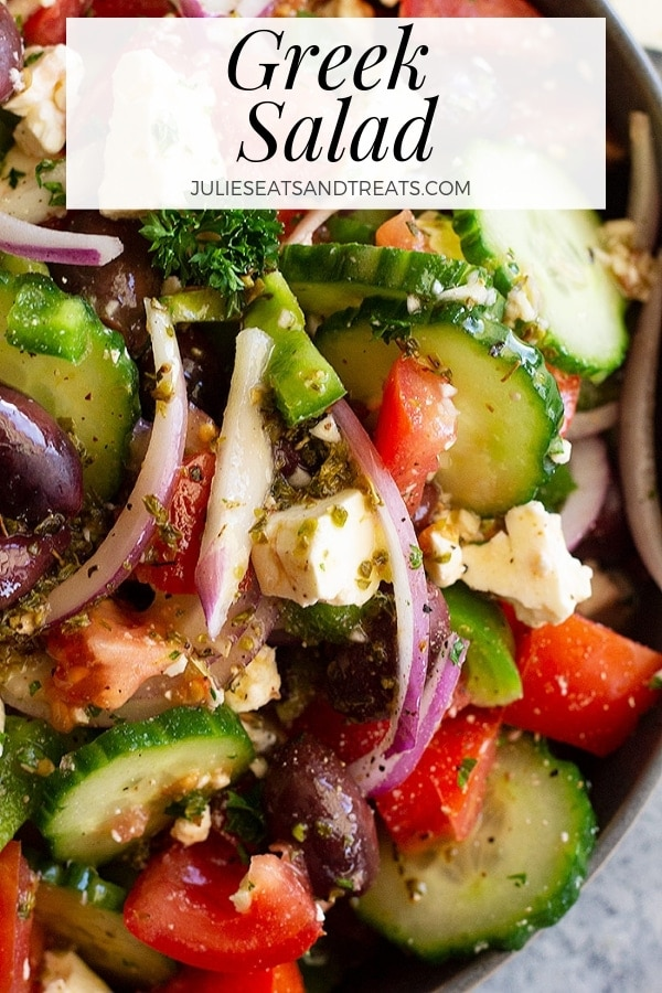 Greek Salad Pinterest