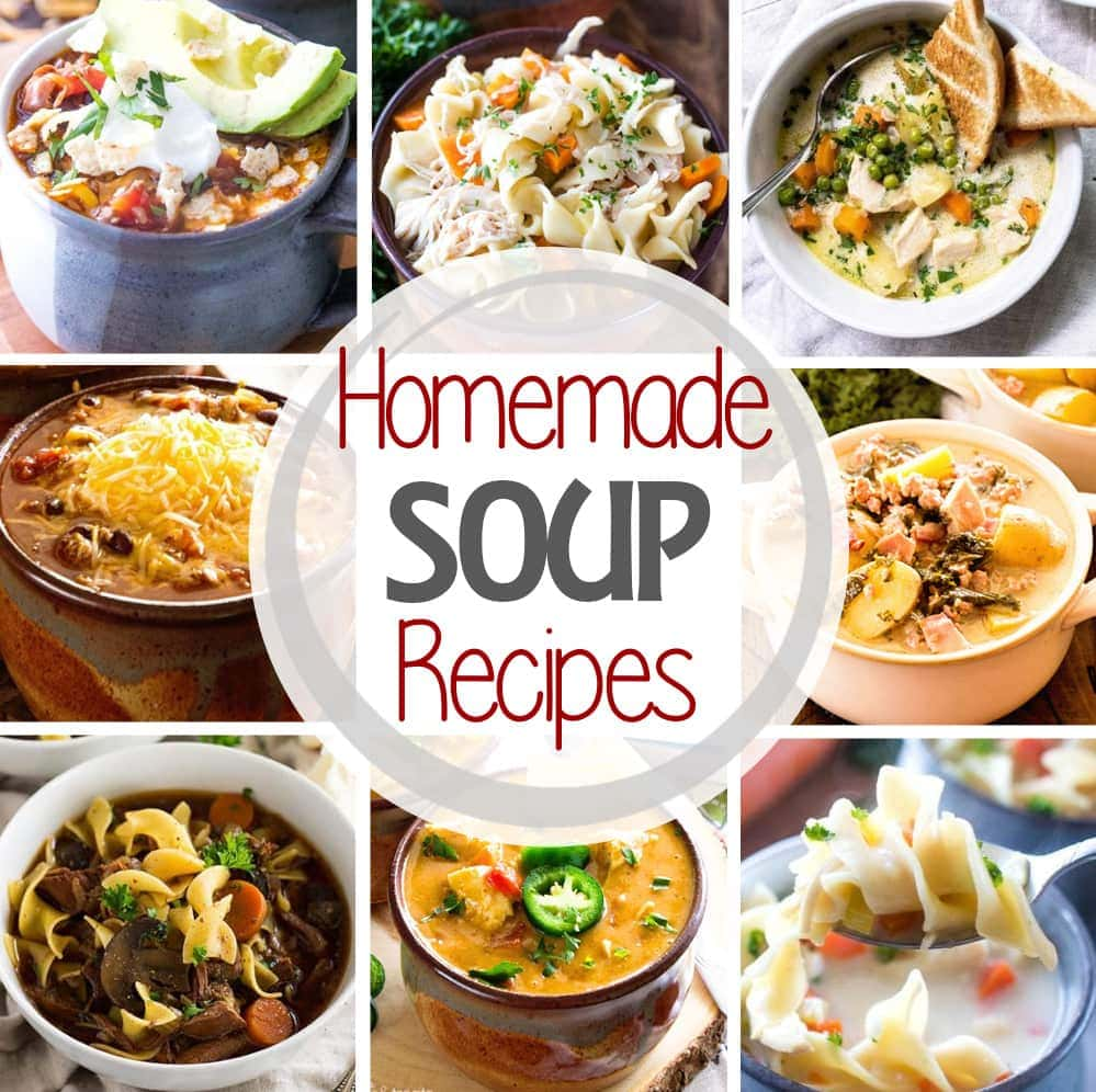 Homemade Soups Square Image