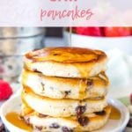 chocolate chip pancakes New Pins