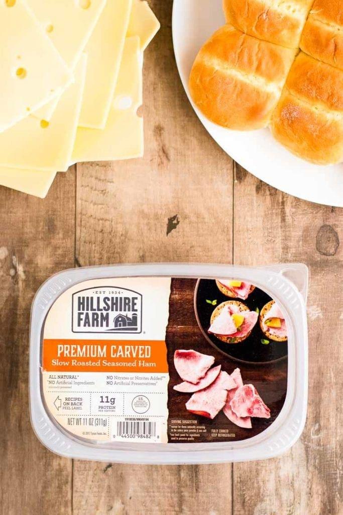 Hillshire Farm Ham container