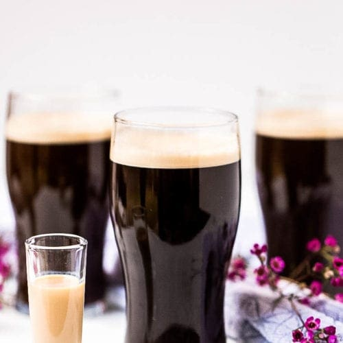 Irish Car Bomb in glass