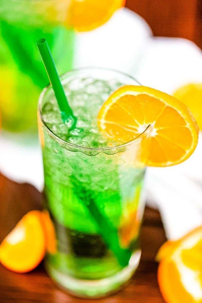Irish Trash Can Beverage mixed up