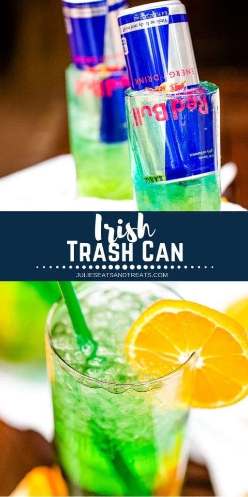 Irish Trash Can collage