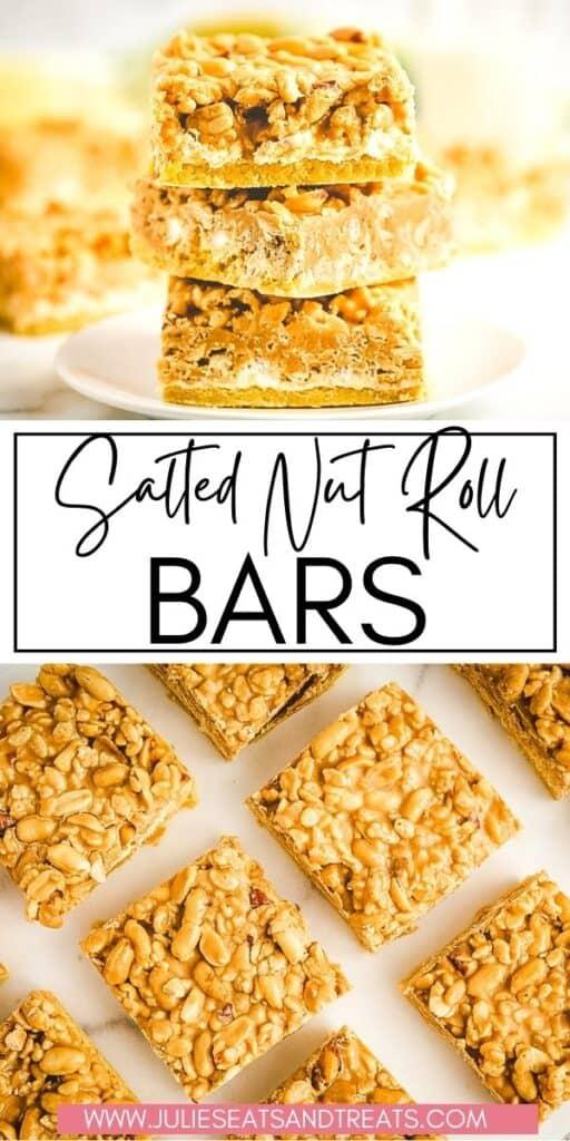 Salted Nut Roll Bars JET Pinterest Image