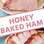 Pin Collage for Honey Baked Ham