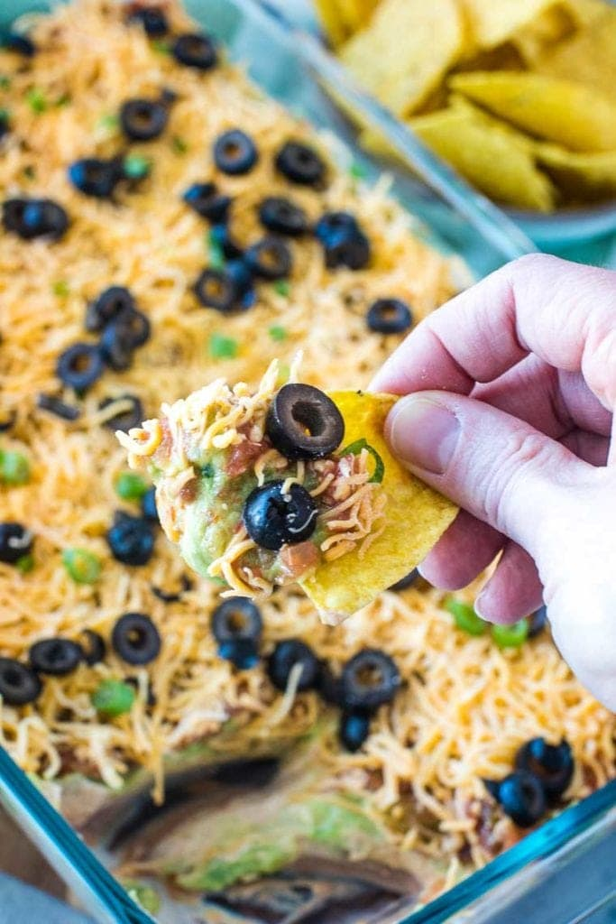 7 Layer Dip on chip