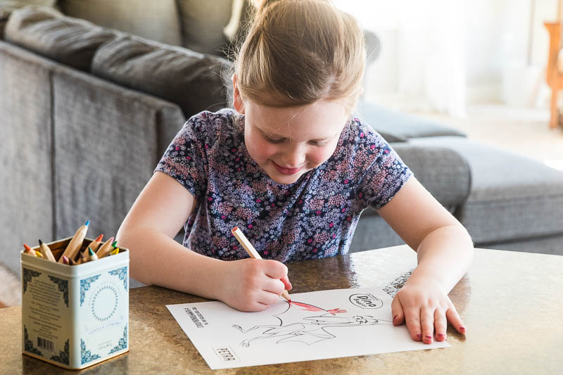 Kinzee Coloring Dino Nuggets Coloring Page