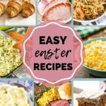 Pinterest Image for Easter Meal Plan