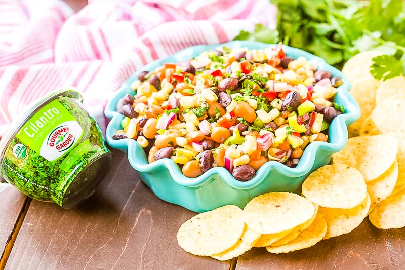 Bowl with Texas Caviar