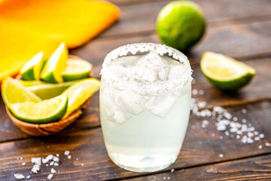 Margarita in glass