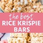 RICE KRISPIE BARS Pins