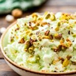 Bowl of watergate salad