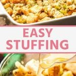 easy stuffing RECIPE Pins (1)