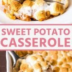 Pinterest Image for casserole