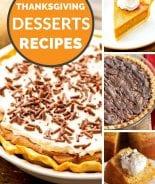 Pinterest image for Thanksgiving Desserts