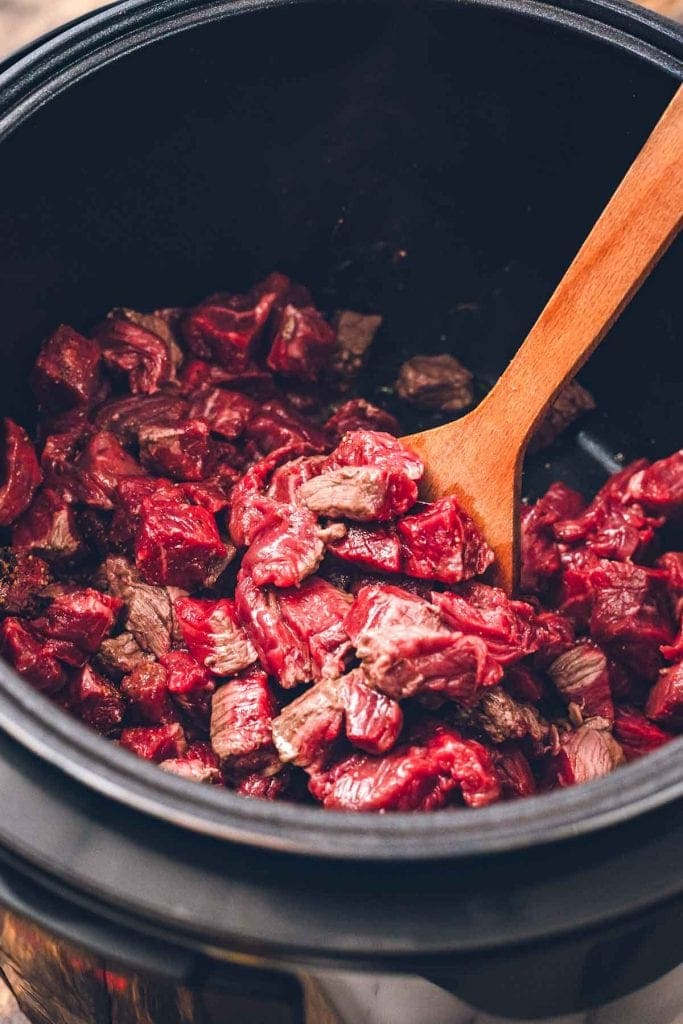 Instant Pot with stew meat