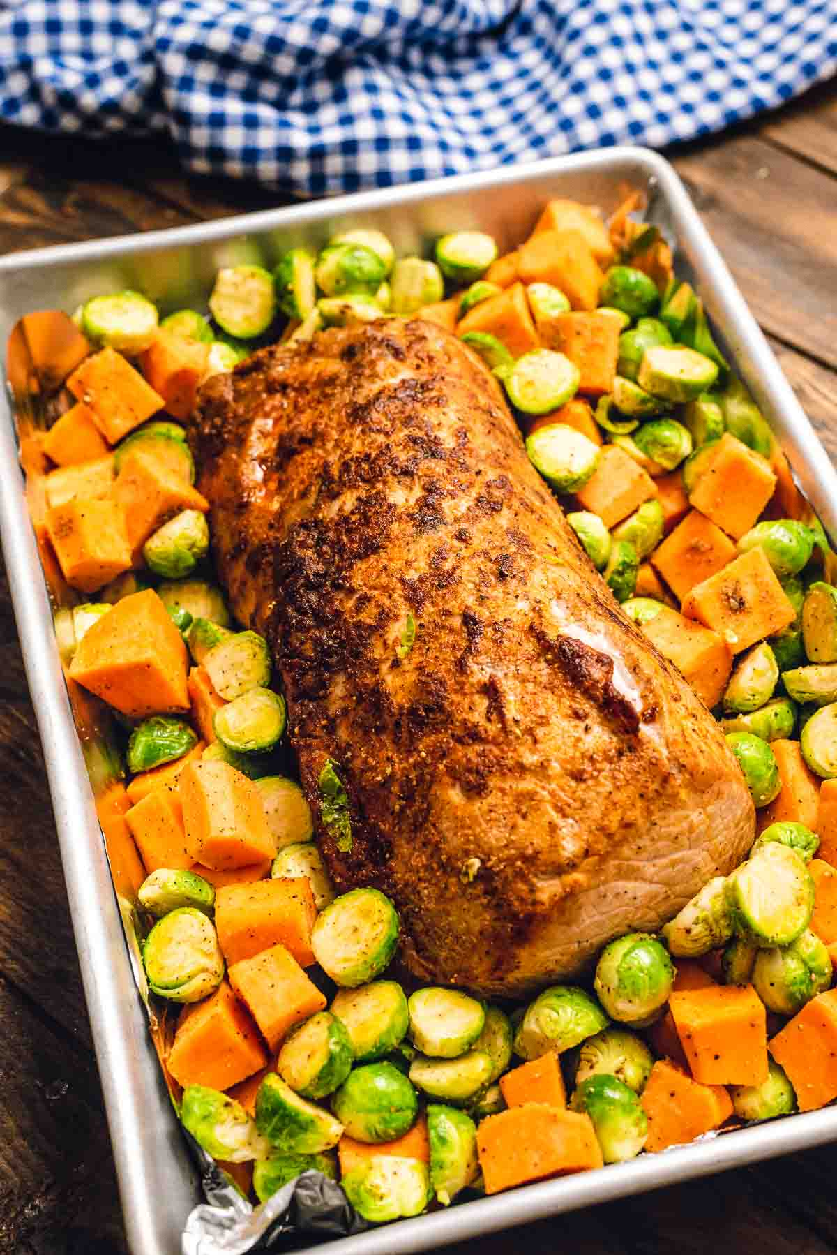 Pork Loin Roast With Vegetables Julie S Eats Treats