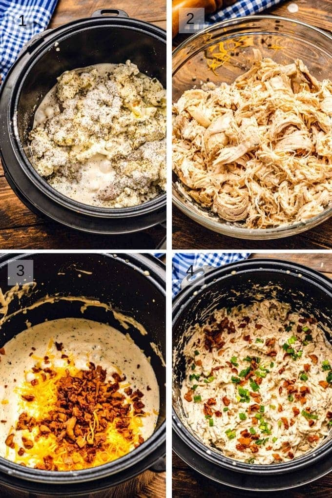images on how to make crack chicken