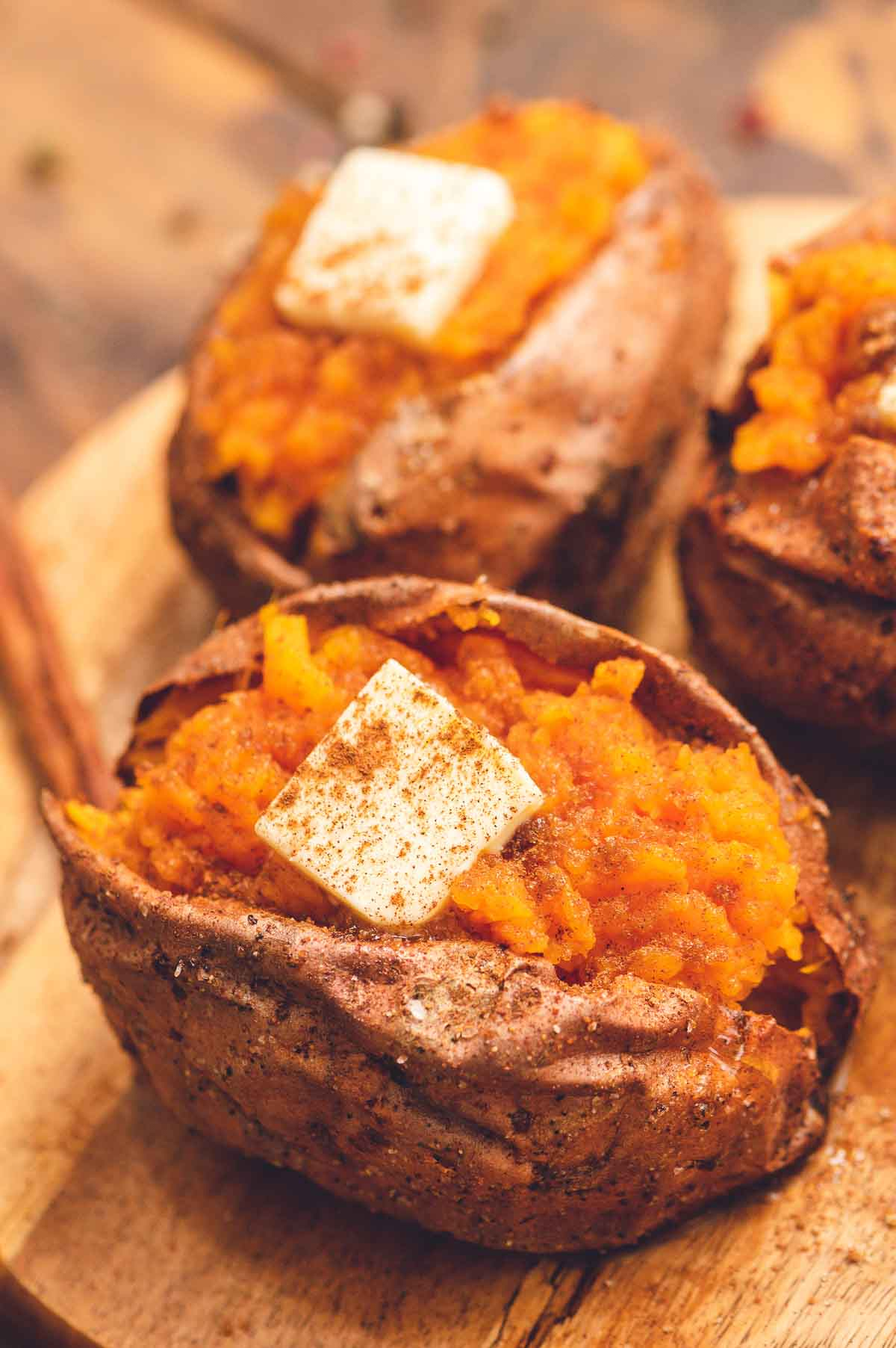 Air Fryer Baked Sweet Potato Easy Healthy Julie S Eats Treats