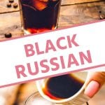 Black Russian Pinterest image