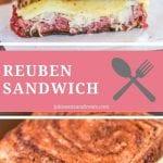Pinterest Collage for Reuben Sandwich