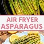 Pin for Air Fryer Asparagus