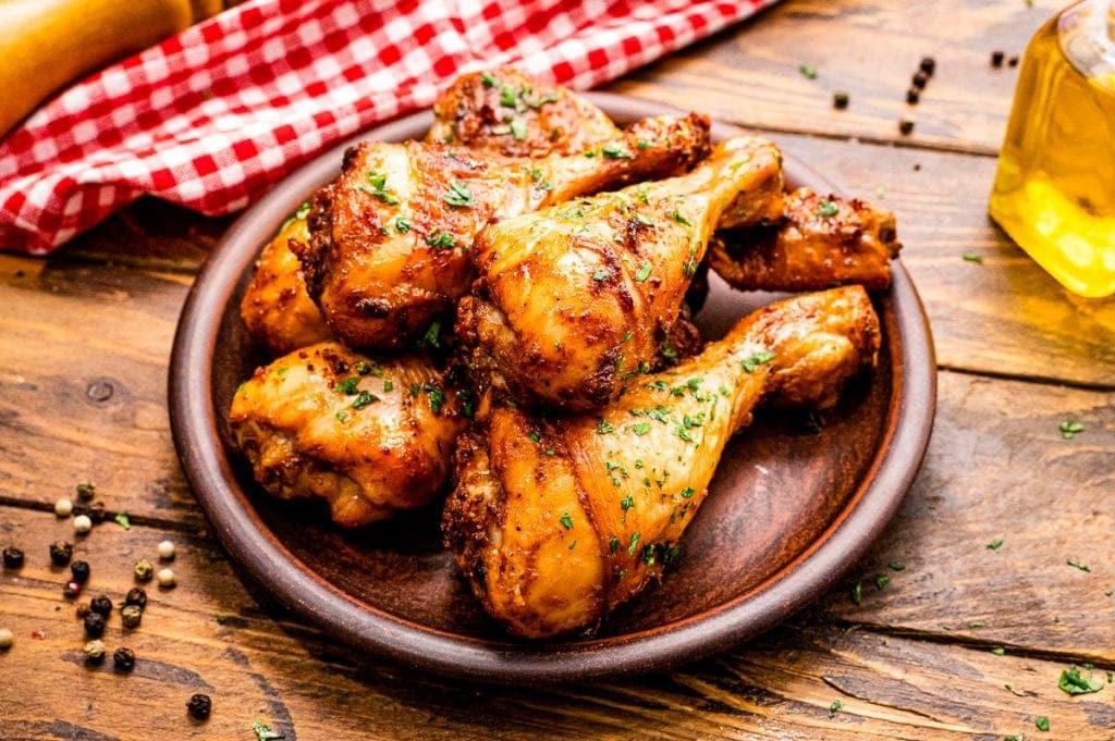 resep baked chicken drumstick