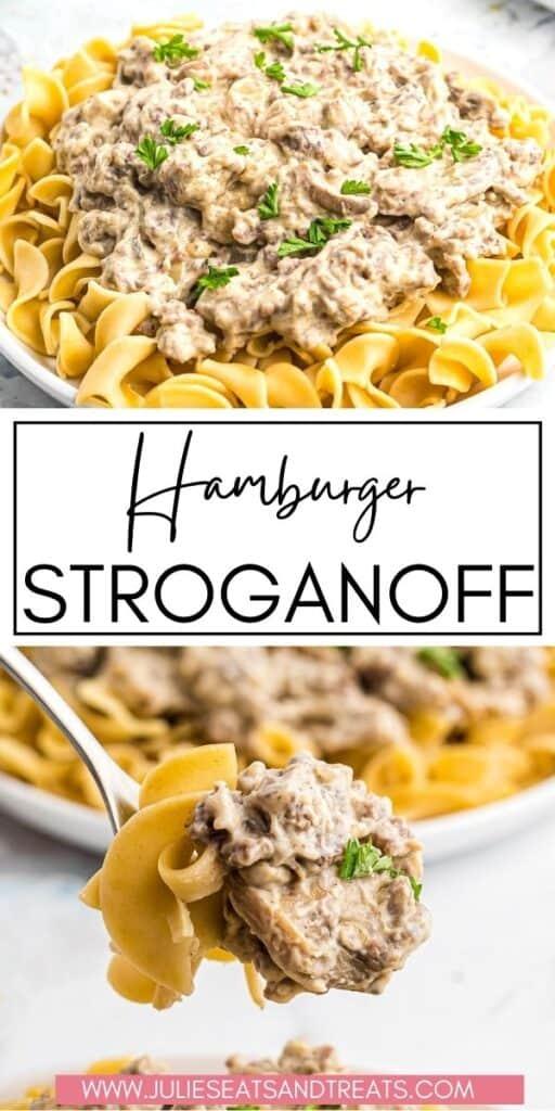 Hamburger Stroganoff JET Pinterest Image