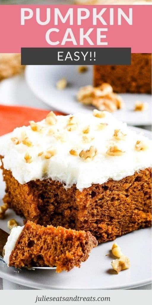 Pin Image Pumpkin Cake