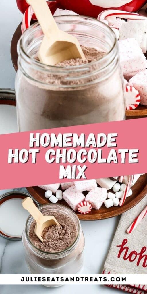 Homemade Hot Chocolate Mix Pinterest Image