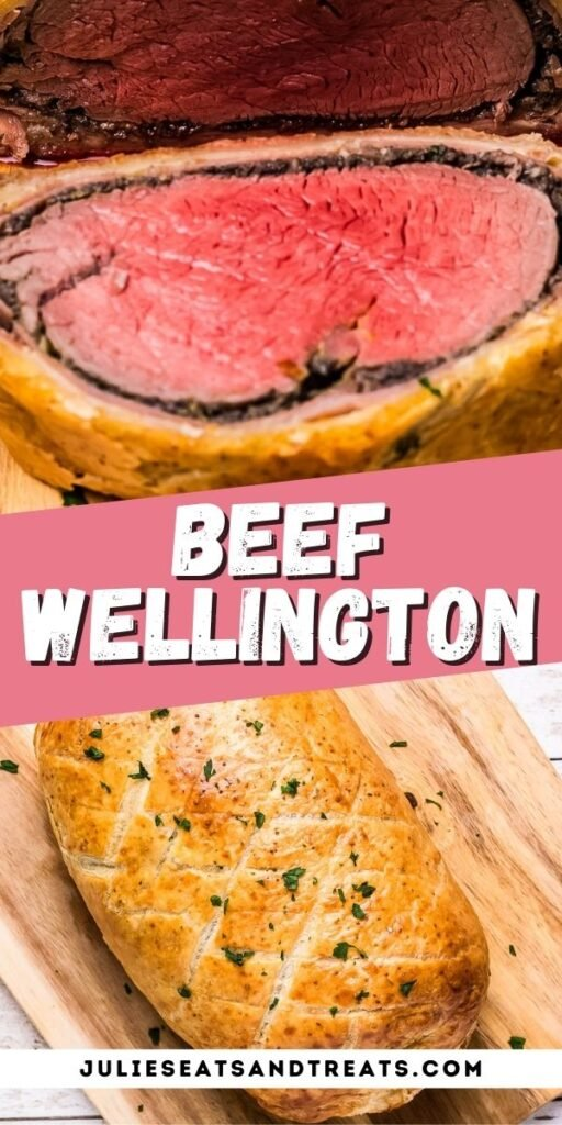 Pin Collage Image for Beef Wellington