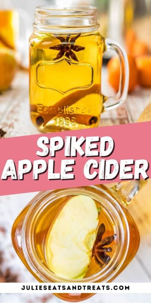 spiked apple cider Pinterest Image