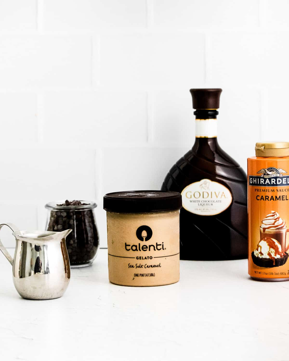 All of the Affogato Ingredients