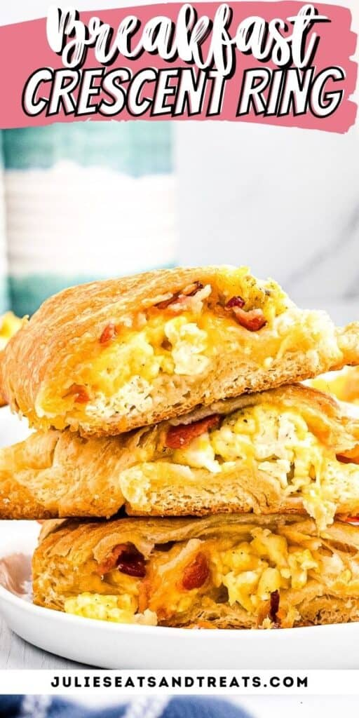 Breakfast Crescent Ring Pinterest Image