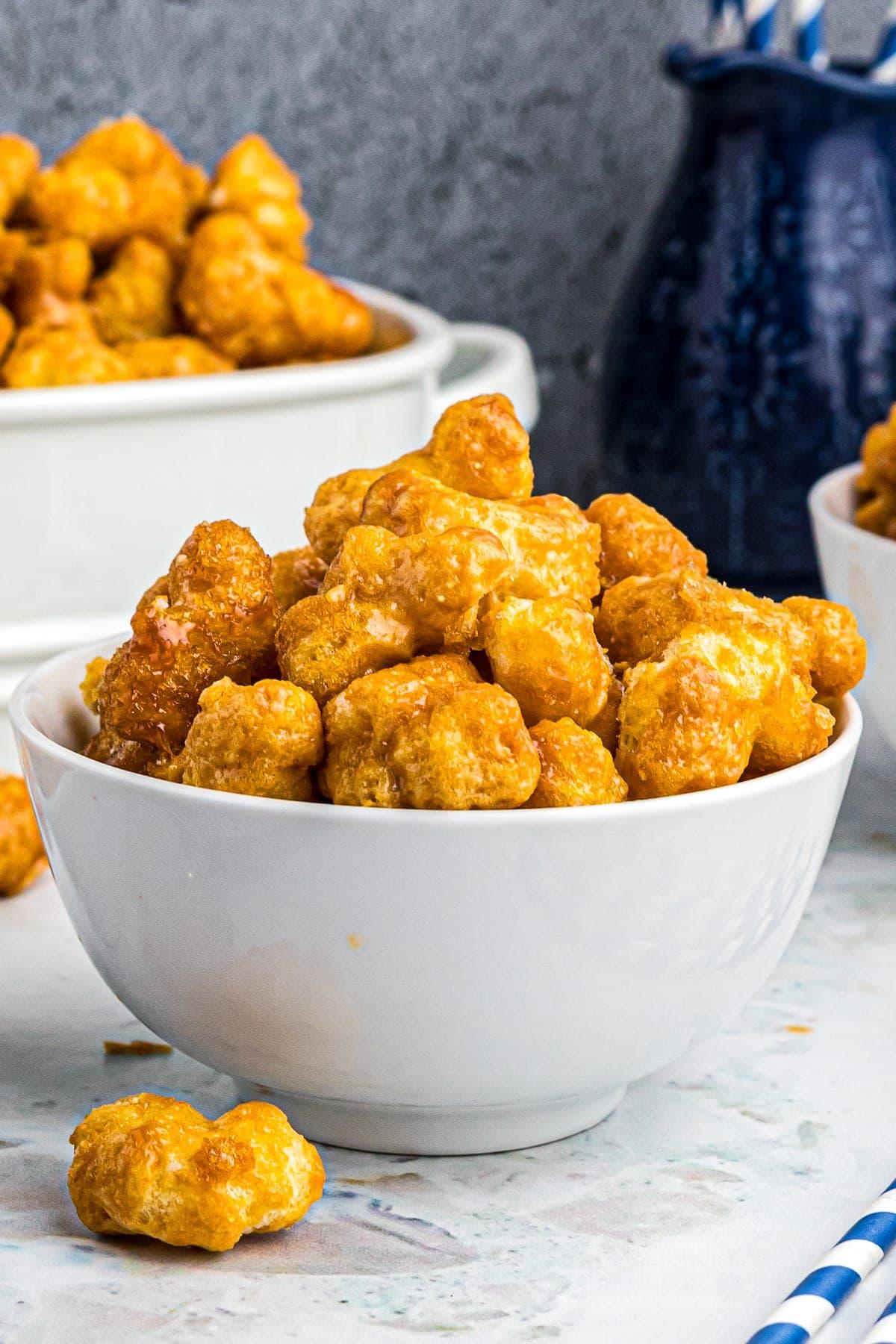 Caramel Puff Corn Recipe So Easy Julie S Eats Treats