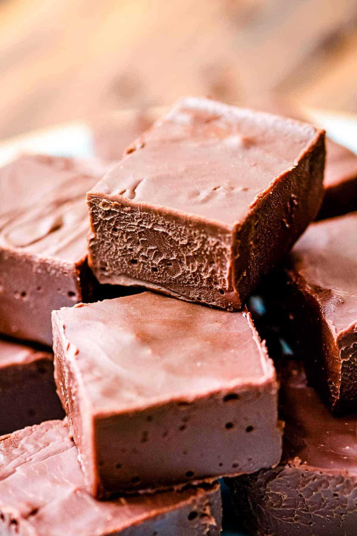 Easy Chocolate Fudge Freezes Great Julie S Eats Treats