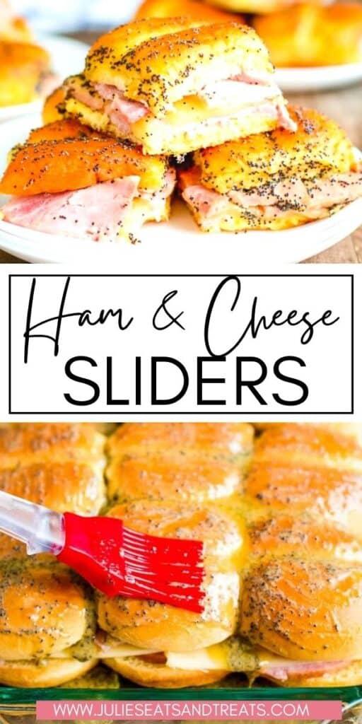 Ham and Cheese Sliders JET Pin Image