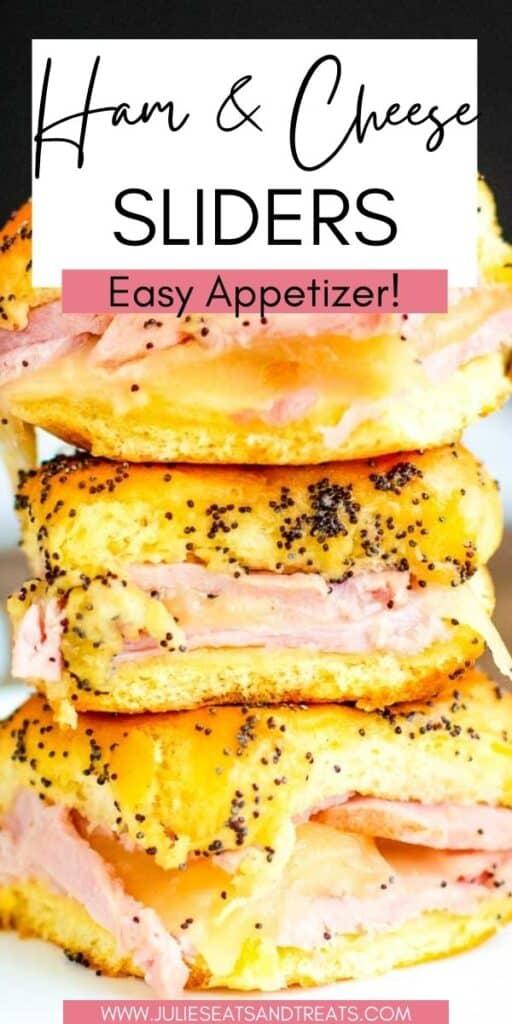 Ham and Cheese Sliders JET Pinterest Image