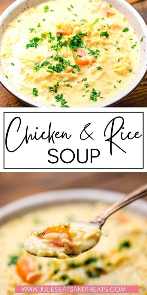 Chicken and Rice Soup JET Pin Image