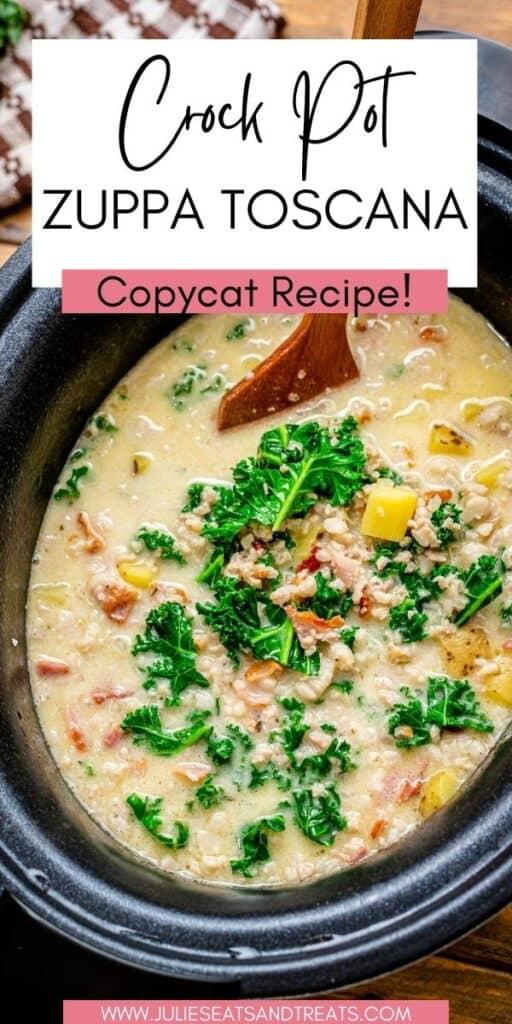 Crock Pot Zuppa Toscana JET Pin Image