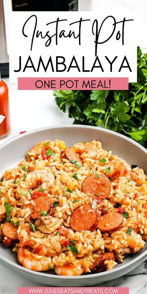 Instant Pot Jambalaya JET Pin Image